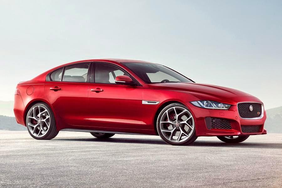 Jaguar XE (2015) Front Side 3