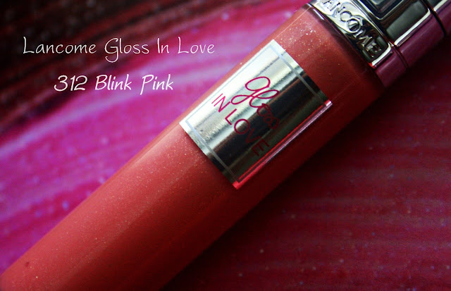 Lancome Gloss In Love 312 Blink Pink Review, Photos & Swatches