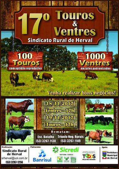 FEIRA DE TOUROS E VENTRES EM HERVAL.