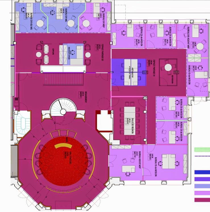 agence d 39 architecture int rieure parallel paris insep amenagement du b timent j. Black Bedroom Furniture Sets. Home Design Ideas