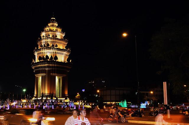 Phnom Penh, monument de l'indépendance