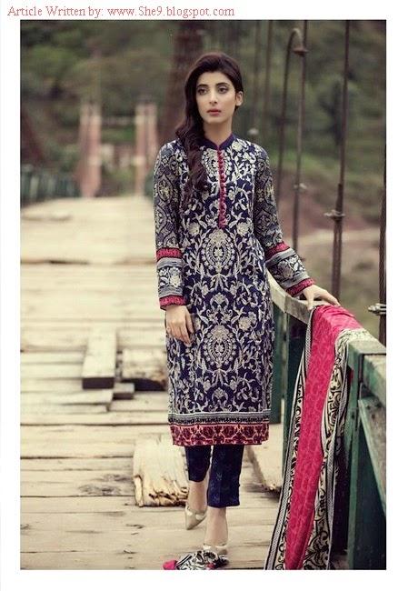 Mariab Premium Luxury Linen 2014