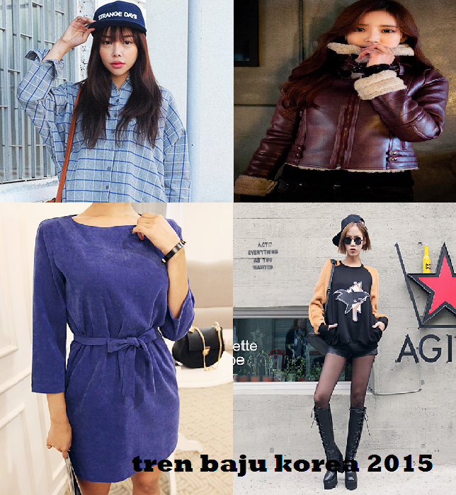 Gaya fashion artis korea 2015 model baju terbaru ala korea fashion style 2015 trend Fashion style ala artis korea