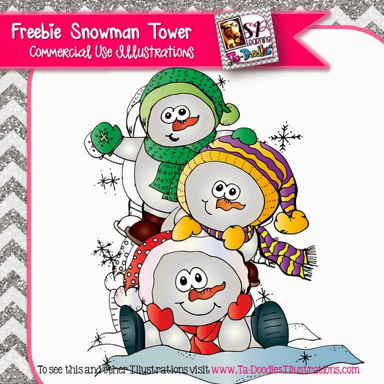 http://www.teacherspayteachers.com/Product/Tower-of-Snowmen-FREEBIE-1607708