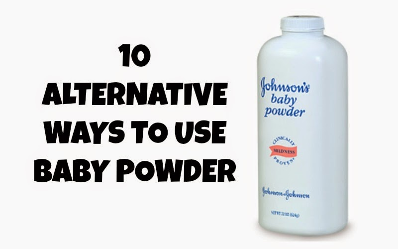 TUESDAY TEN! Beauty Secrets: Baby Powder