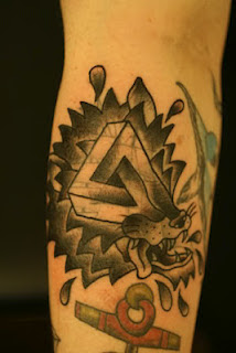 Impossible Triangle Tattoos Design by Bradley Tompkins