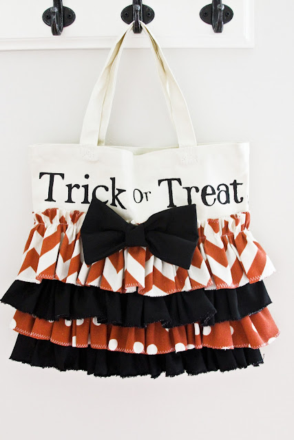 trick or treat tote tutorial