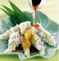 Resep Kue Lupis Ketan Putih/Ketan Hitam :
