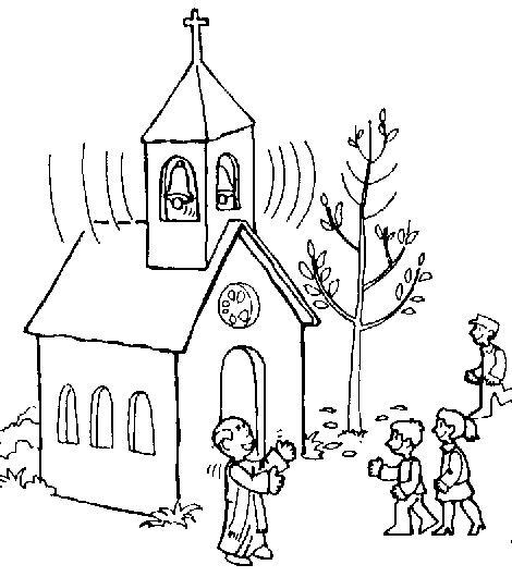 Iglesias para Colorear.