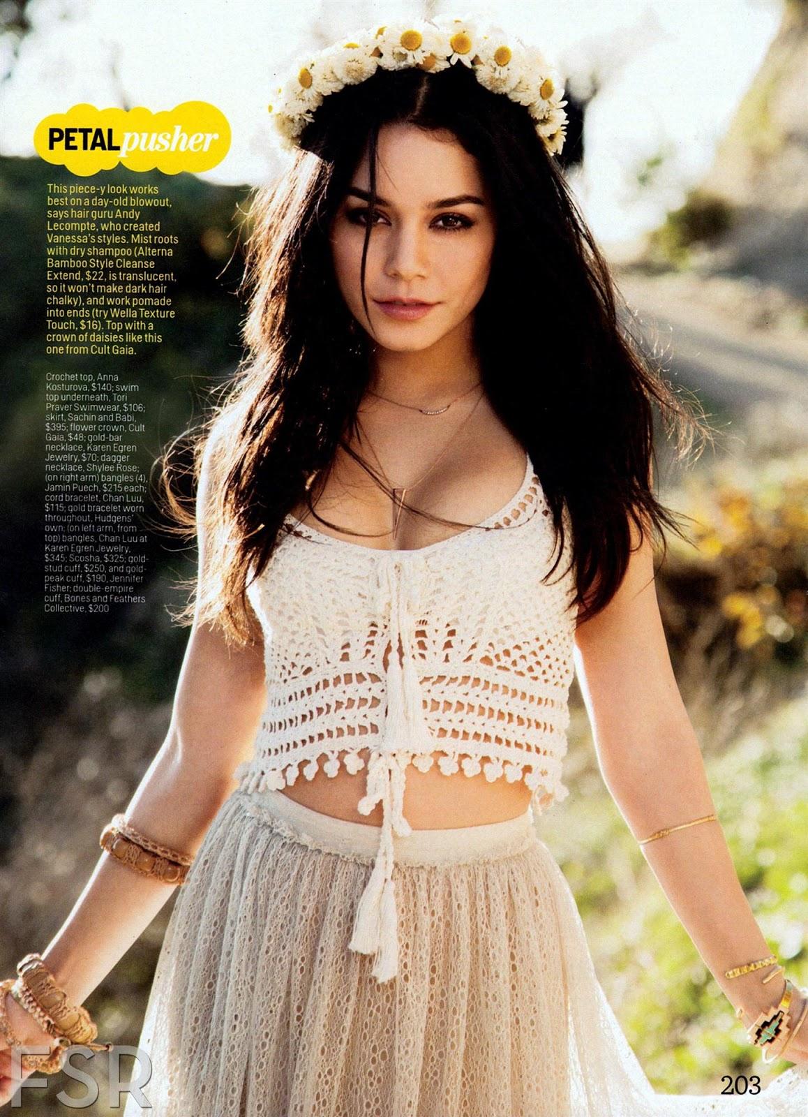 Vanessa Hudgens Photoshoot for Cosmopolitan Magazine April 2013
