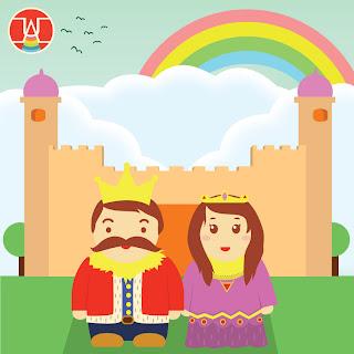 raja dan ratu yang bahagia