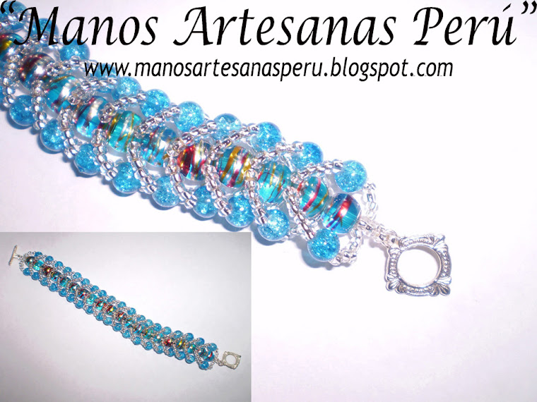 Turquoise Fantasy_bracelet