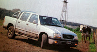 barro agua todo terreno Chevrolet S-10 Limited