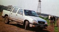 barro agua todo terreno Chevrolet S-10 Limited