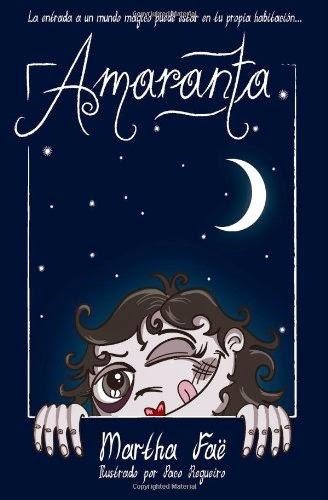 """Portada del libro """"Amaranta"""", de Martha Faë"""