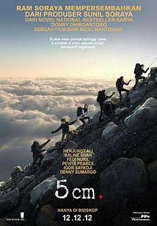 Sinopsis Film 5 cm, Film Terbaru 2012