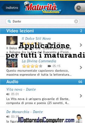 applicazione maturandi 2011