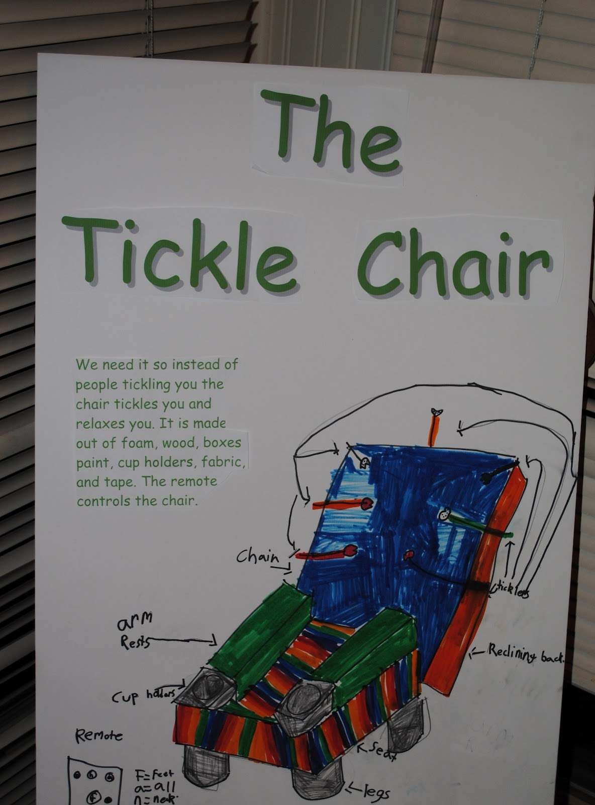 chasing rainbows the tickling chair – The Tickle Chair
