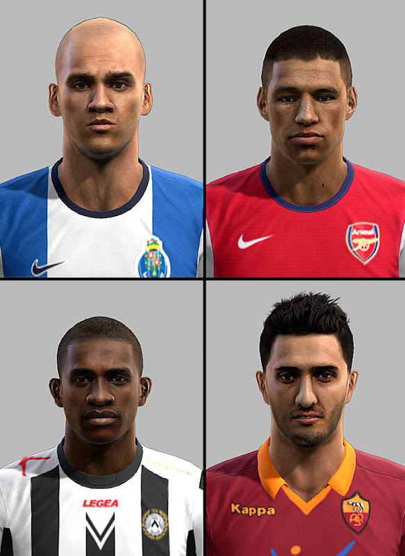 PES 2012 Facepack by Vitorino