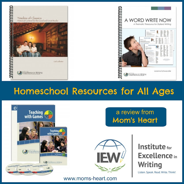Institute for Excellence in Writing (IEW) Review