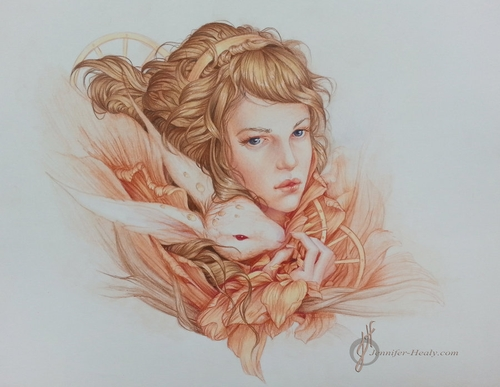 19-Wile-Jennifer-Healy-Traditional-Art-Color-Pencil-Drawings-www-designstack-co