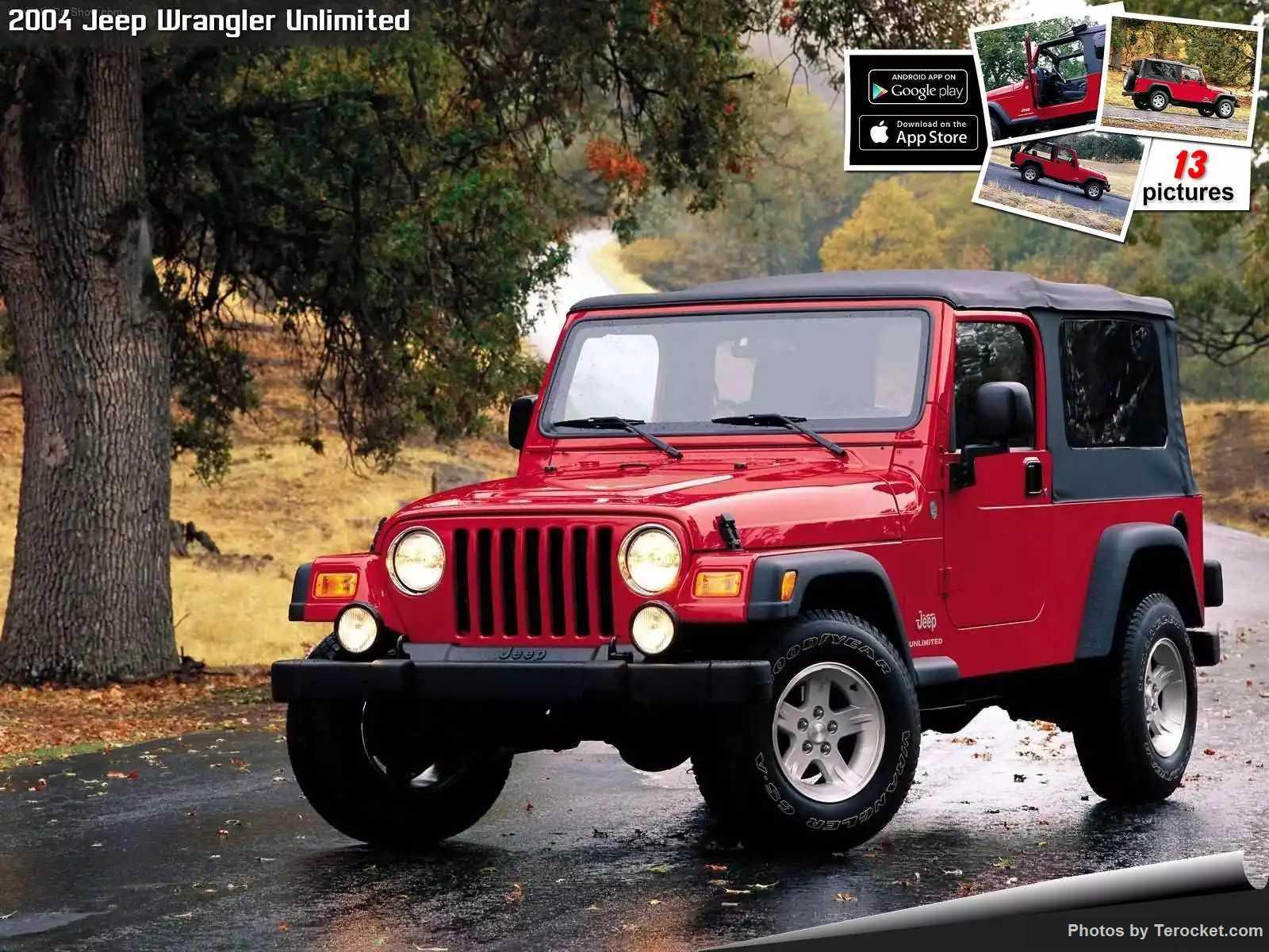 Hình ảnh xe ô tô Jeep Wrangler Unlimited 2004 & nội ngoại thất