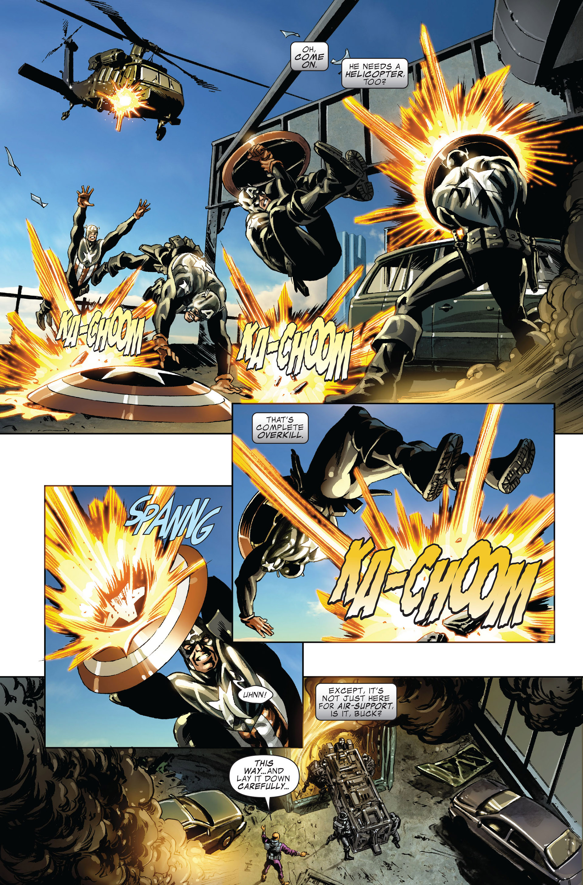 Captain America (2005) Issue #45 #45 - English 14