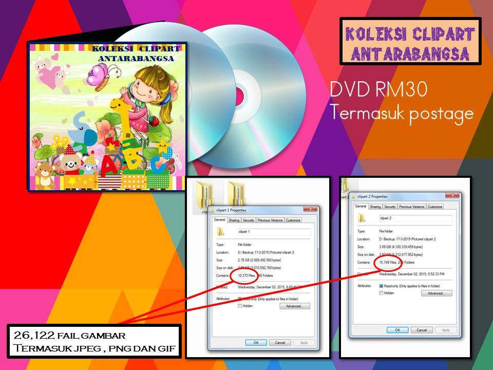 DVD Clipart