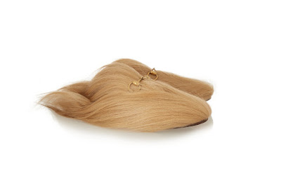 Guccci Goat Hair Slippers