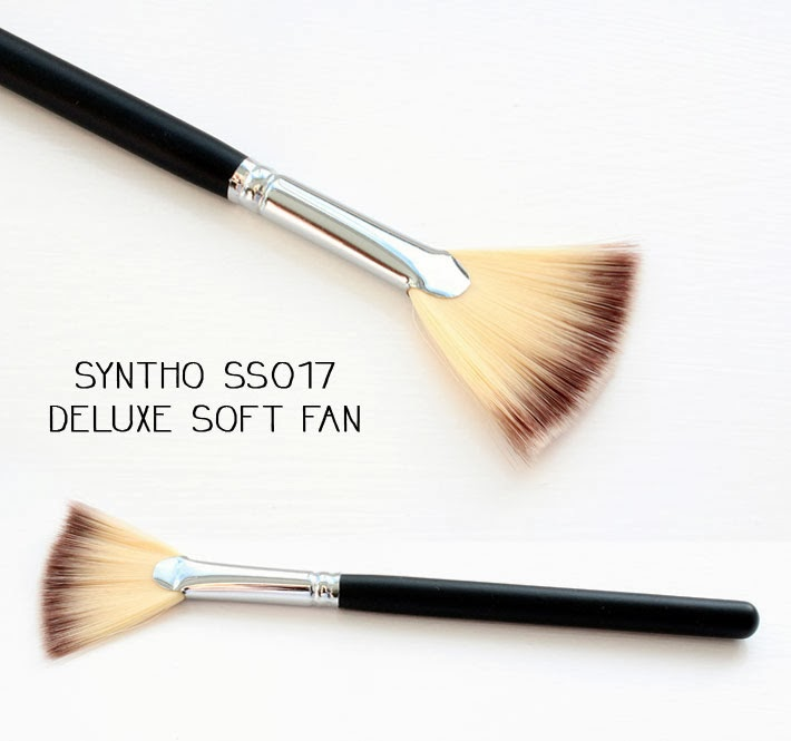 Crownbrush Syntho SS017 Deluxe Soft Fan