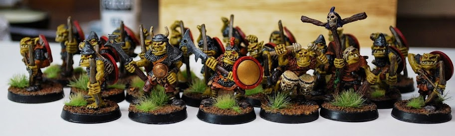 RRD3 - Harboth's Orc Archers  pintados