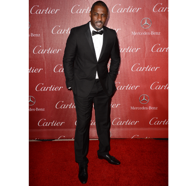 El actor Idris Elba en la alfombra roja