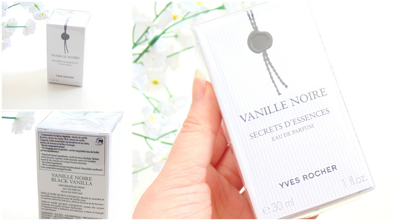 Yves Rocher Vanille Noir perfume giveaway