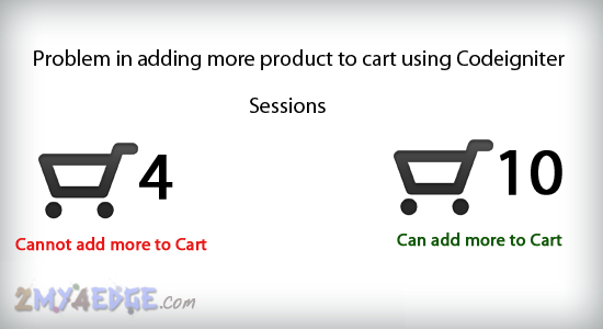 facing problem in php cart codeigniter