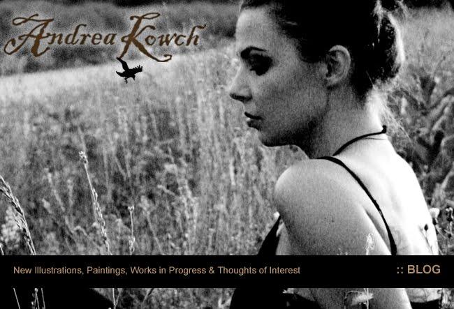 Andrea Kowch Studio Blog