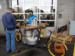 オレゴン ポートランド ビール 自転車