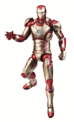 Hasbro Iron Man Marvel Legends 2013 Series 2 - Iron Man Mk 42
