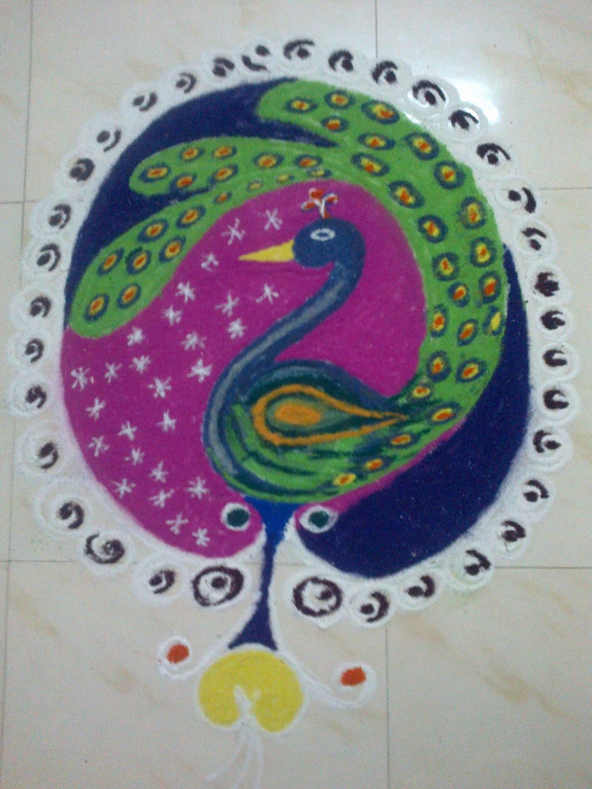 art corner latest rangoli designs
