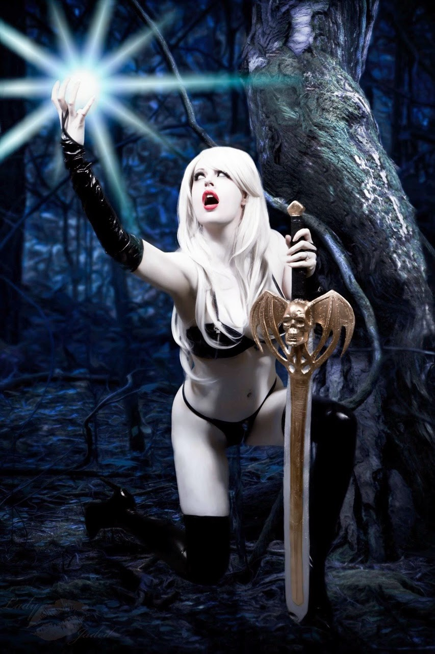 Lady death cosplay xxx hardcore thumbs