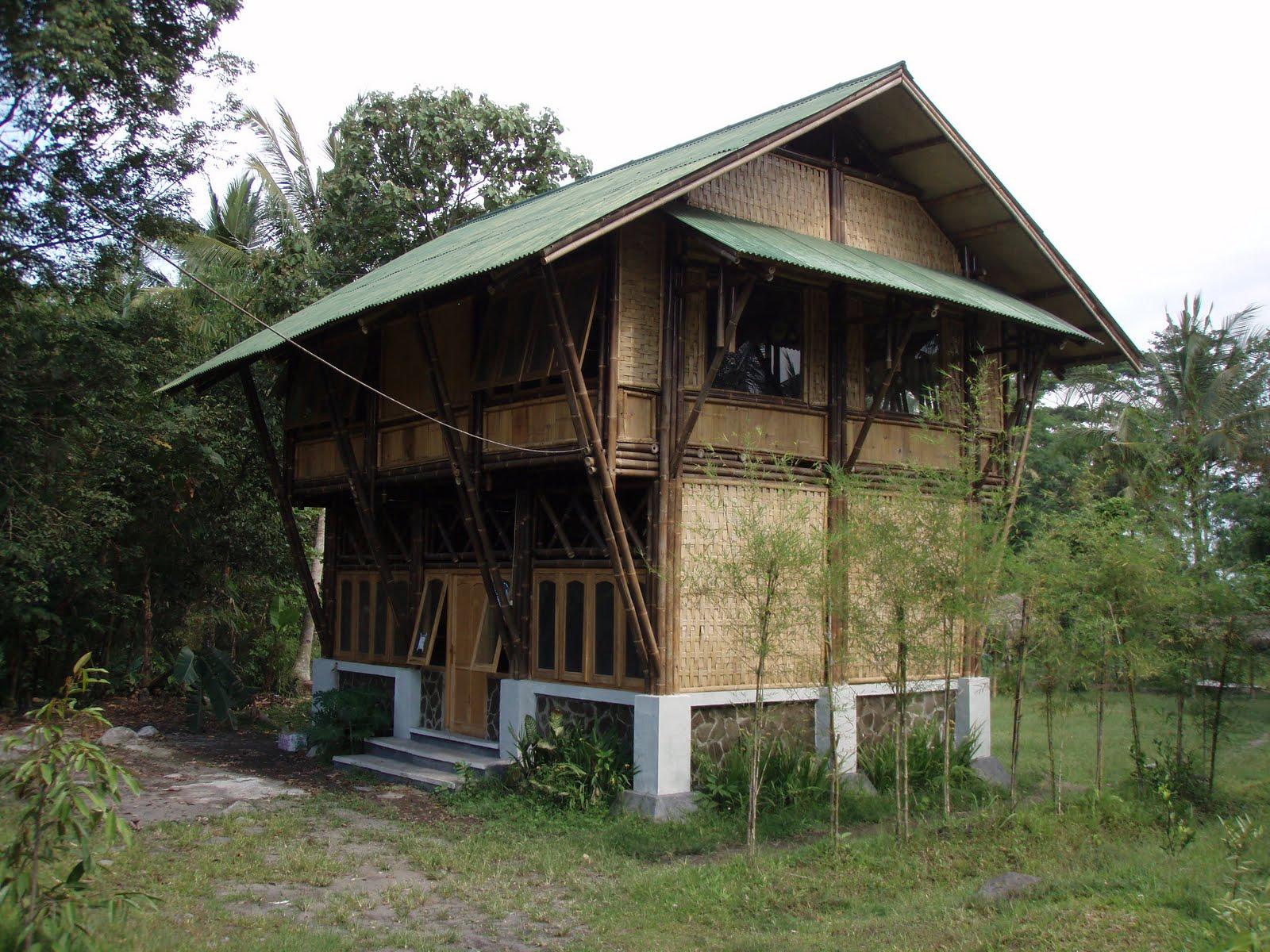 Istana Bambu Bamboo House