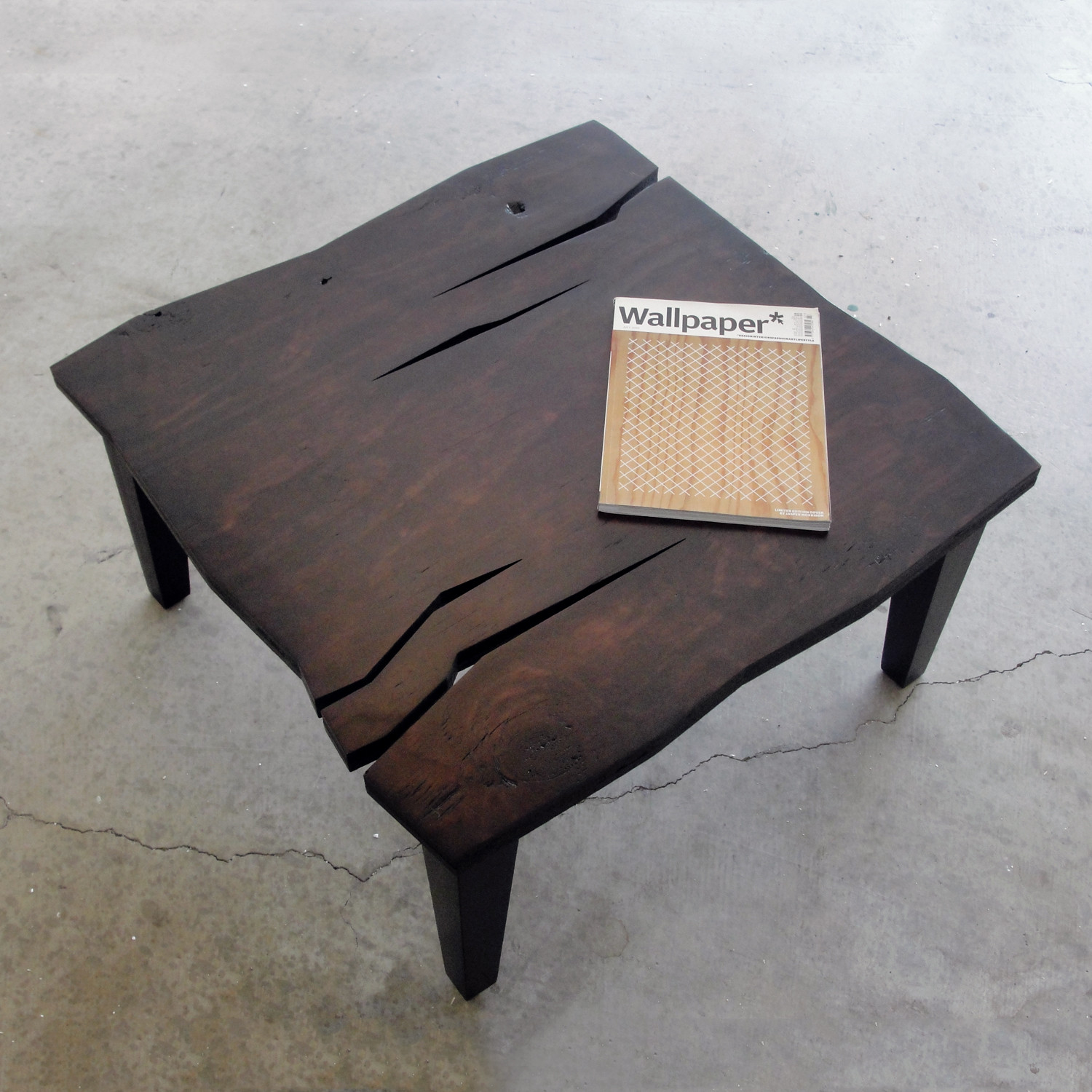 AD Rustic Coffee Table by Farzan Nemat