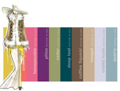 As cores do inverno 2012