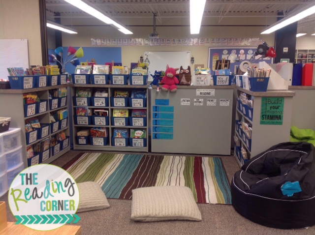 Reading Corners the reading corner: my classroom