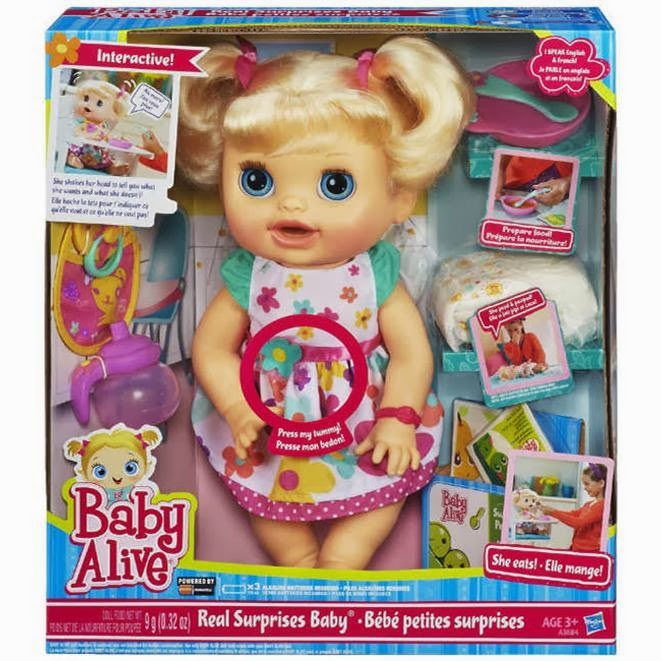 Baby alive cici bebeğim