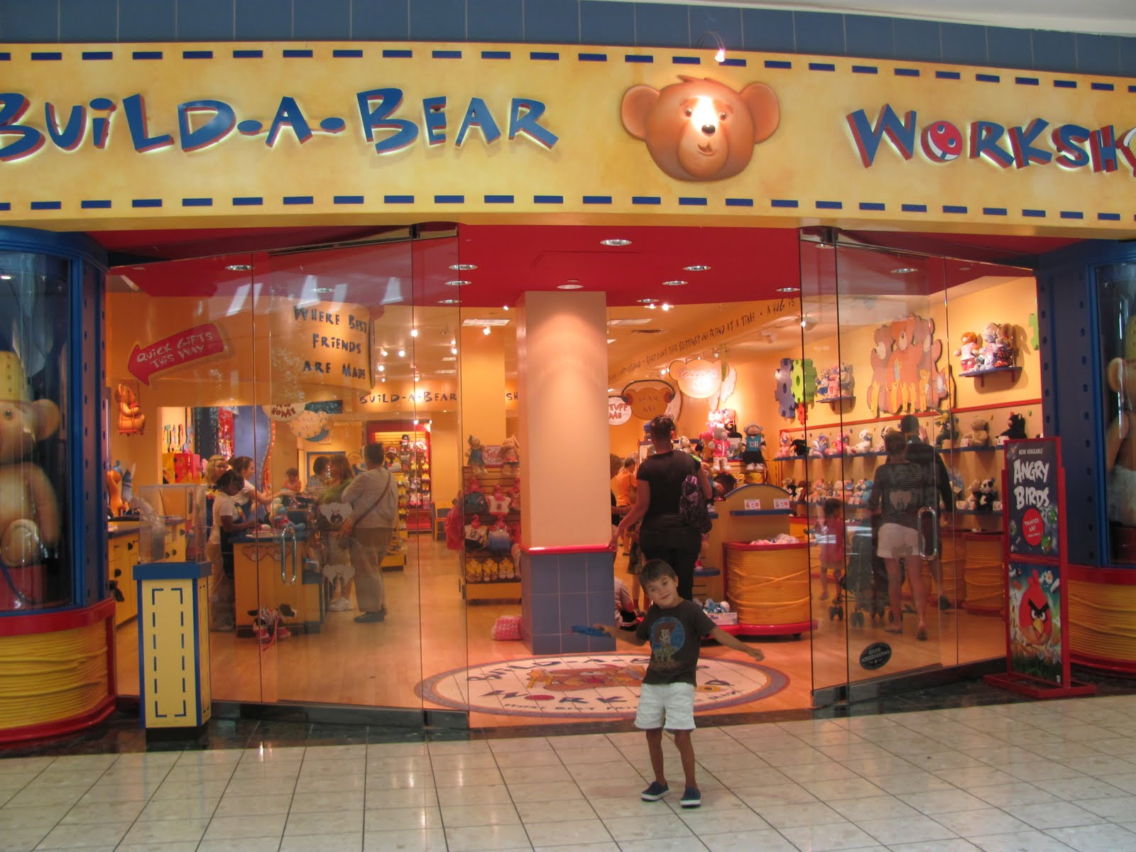 The Exciting Build A Bear Work At Gardens Mall In Palm Beach Florida