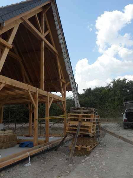 3 brins de paille apres le toit au tour des lisses basses. Black Bedroom Furniture Sets. Home Design Ideas