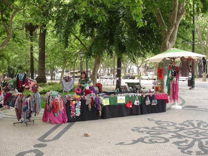 Lisboa - Av. Liberdade - Paseio Público
