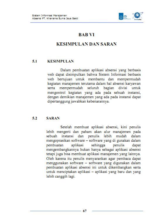 Explanation for Bab V Kesimpulan Dan Saran A Kesimpulan