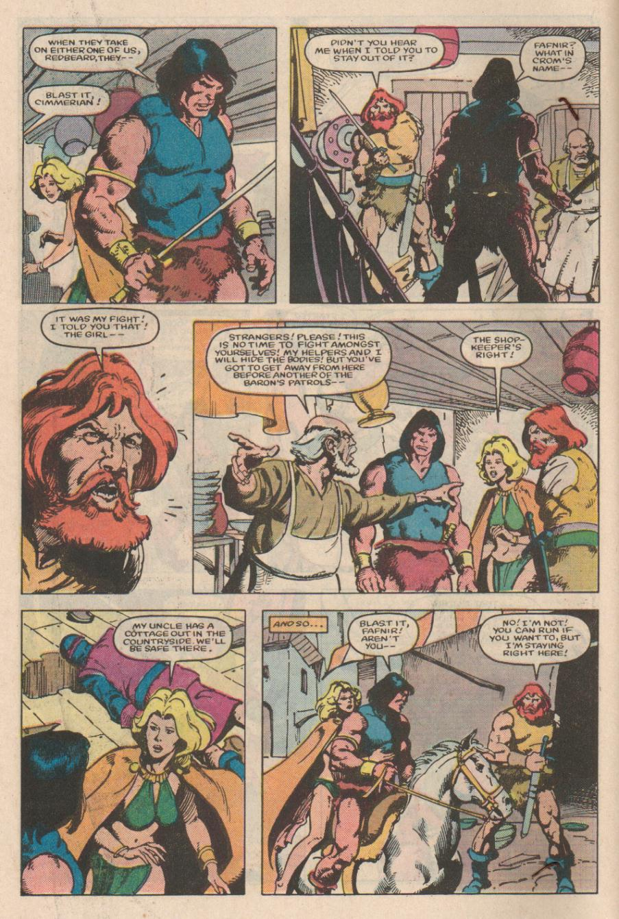 Conan the Barbarian (1970) Issue #166 #178 - English 5