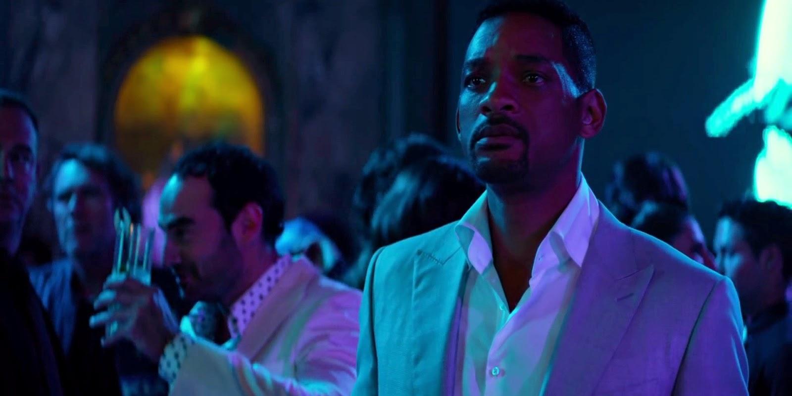 Rodrigo Santoro em pôster inédito e trailer legendado de Golpe Duplo, com Will Smith e Margot Robbie